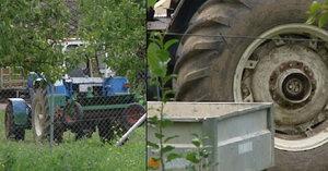Chlapec (†2) vypadl za jízdy z traktoru: Otec Ján (35) ho bohužel přejel