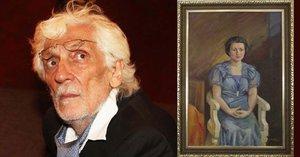 Tajemství obrazu z dědictví Petra Hapky (†70): Nový majitel odhalil dámu v modrém!