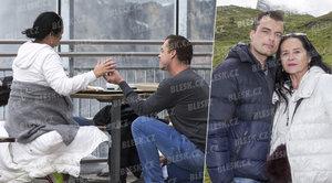 Exkluzivní foto a video: Takhle zajíček Ondra (31) žádal Gregorovou (63) o ruku!