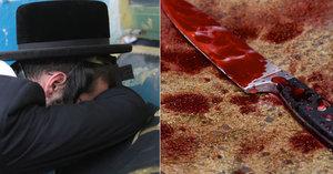 Muslim pobodal rabína a řval: Alláhu akbar. Žid je vážně raněný