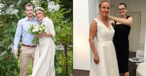 Vendula Svobodová Pizingerová (44): Opět ve svatebním!