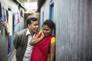 Snímky reálného pekla: Nevěstinec v Bangladéši je plný nemocných žen
