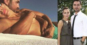 Veronika Arichteva s manželem: Plavky dolů, pak… Něžnosti na dovolené!