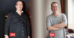 Dlouhá léta poněkud otylý Richard Müller výrazně zhubl: Zpěvák je znovu fit