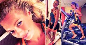 Borhyová se potí v posilovně: Maká na sobě kvůli zajíčkovi Michalovi?!