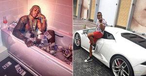 Gangster tvrdil, že je na mizině, ale na Instagramu ukazoval statisíce v bankovkách. Skončil v base