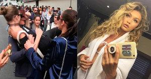 Supermodelka Gigi Hadid se nezdá: Lokty a pěstmi zahnala drzého útočníka!