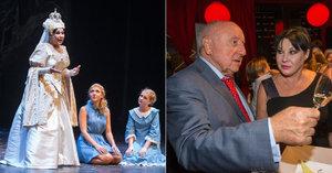 Dáda Patrasová na premiéře Alenky v kraji zázraků: Manžel jí zahýbá i v muzikálu!