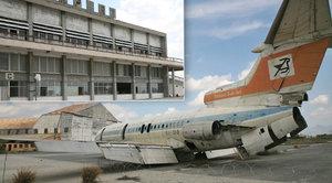 Kyperské letiště je děsivým pomníkem turecké invaze: Před 42 lety se tu zastavil čas!