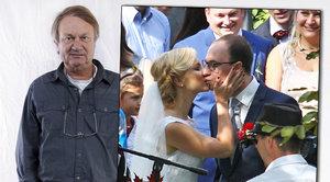 Dcera Jiřího Adamce (68) Kristina (26) se vdávala bez táty! Na svatbu ho prý ani nepozvala