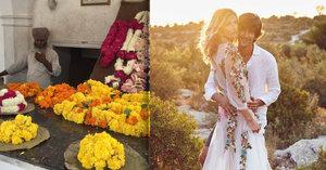Čerstvě vdaná Maxová: Na líbánky s Burakem pláchla do Indie!