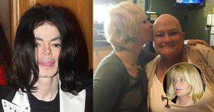 Rakovina ji po letech mlčení sblížila s dcerou: Matka Jacksonových dětí má nádor v prsu