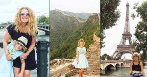Maminka dala výpověď a s dcerkou (6) cestuje po světě: Je to levnější, než kdyby byly doma!
