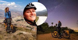 Laura (23) procestovala na kole Jižní Ameriku: Nestálo ji to ani korunu!