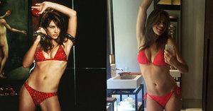 Krásná herečka Elizabeth Hurley se opět pochlubila sexy tělem. Po 16 letech vypadá stále božsky