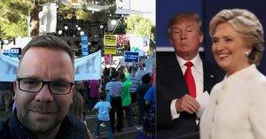 """Blesk byl u poslední """"bitvy"""" Clintonové a Trumpa: Lidi víc táhli Rolling Stones"""