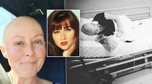 Brenda z Beverly Hills nevýslovně trpí: Takhle zničil krásku boj s rakovinou