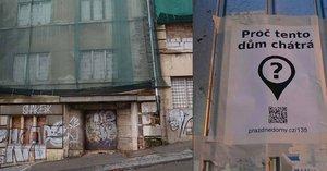 Je Praha městem duchů? Prázdné budovy »hyzdí« centrum: Jejich majitelé čekají, až spadnou