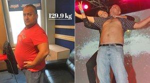 Metráček Hezucký už váží skoro 130 kilo! Rozhodl se pro radikální řez