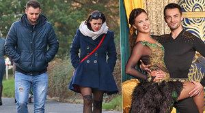 Leichtová a její tanečník ze StarDance: Metr od sebe a ve tváři kyselý výraz!