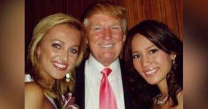 Miss Langmannová se pochlubila fotkou s Trumpem. To neměla dělat!