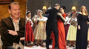 Margitovy šedesátiny v Národním divadle: Sekt tekl proudem