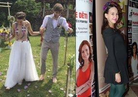 Herečka Míša Tomešová: Vdávala se polonahá a těhotná! Ale nevěděla o tom