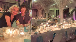Očima Františky: S Tiffany za svitu svíček u dýně a krocana