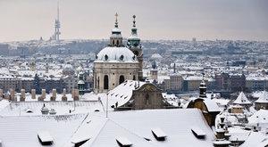 Vytaste šály a čepice, Prahu v týdnu přikryje sníh. Bude mrznout i svítit sluníčko