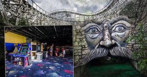 Dětský smích vystřídalo hrobové ticho: Opuštěný zábavní park nahání hrůzu