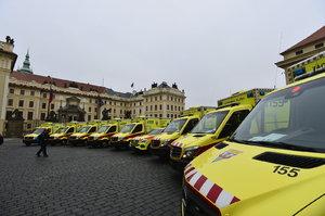 360stupňové foto: Podívejte se do útrob nových sanitek pražských záchranářů