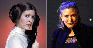 Princezna Leia ze Star Wars dostala infarkt: V letadle ji oživovali