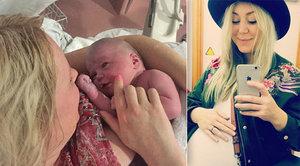 Žena svůj porod vysílala živě přes Facebook: Měla sledovanost víc jak 200 000 diváků