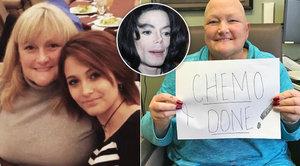Exmanželka Michaela Jacksona porazila rakovinu: Máma nakopala rakovině zadek, napsala Paris