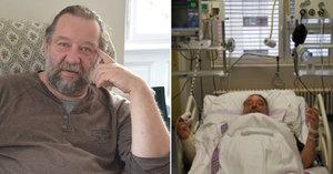 Přepracovaný »král second handů« Petr Jachnin: Po infarktu se ještě sám odvezl do nemocnice...