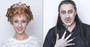 Premiéra krvelačného muzikálu Ples upírů se blíží: Takhle zmalovali upíry!