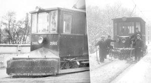 V Praze bývalo tolik sněhu, že tramvaje nejezdily. Kdy a jak začal pomáhat pluh?