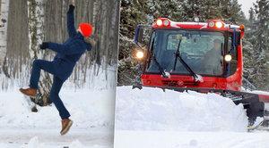 Nebezpečí číhá v zimě na každém chodníku: Co ale dělat když se zraníte?