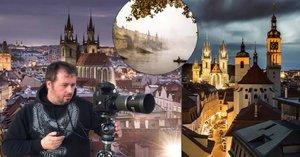 Praha jako z pohádky. Fotograf Jiří Píša fascinuje svými snímky z metropole