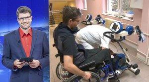 Ochrnutý moderátor Michal Jančařík: Změnil nemocnici a vyráží na výlety po okolí!