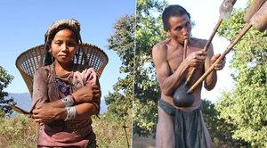 Odlehlý kmen žije hluboko v horách: Nemají elektřinu a jedí i žáby!