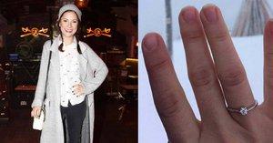 Leontýnka z Ať žijí duchové: Dostala zásnubní prsten, ale na špatnou ruku!