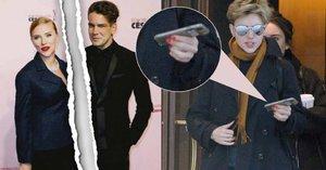 Druhý rozvod? Herečka Scarlett Johansson už je bez snubního prstenu!
