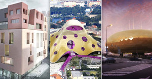 Chobotnice, Maršmeloun, Zlaté vejce: Znáte návrhy architektů, které rozdělily Prahu?
