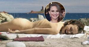 Natalie Portman šla do naha: Ve filmu předvedla vyčnívající žebra