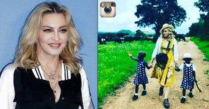 Madonna: Děti č. 5 a 6? Adoptovala dvojčátka