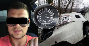 Klikatou silnicí se řítil 250 km/h vstříc smrti: Jirka miloval rychlou jízdu