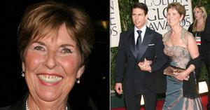 Tom Cruise v slzách: Umřela mu matka (†80), pohřbili ji scientologové