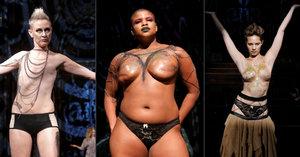 Přehlídku v New Yorku ovládly modelky bez prsou: Show patřila bojovnicím s rakovinou