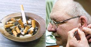 Jiřímu (62) bylo hodně zle, když přestal kouřit. Víme, co mu dalo naději